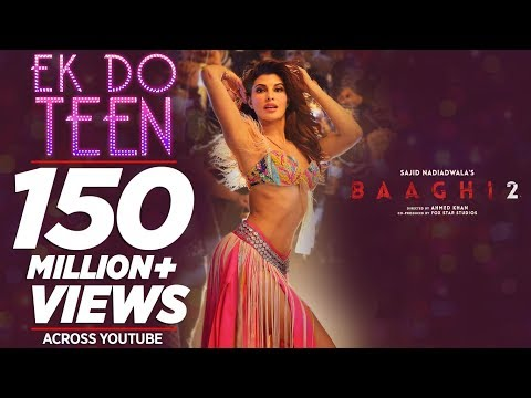 Baaghi 2: Ek Do Teen Song  Jacqueline Fernandez Tiger Shroff  Disha P Ahmed K  Sajid Nadiadwala
