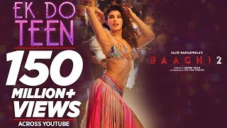Download Baaghi 2: Ek Do Teen Song | Jacqueline Fernandez |Tiger Shroff | Disha P| Ahmed K | Sajid Nadiadwala MP3 song and Music Video