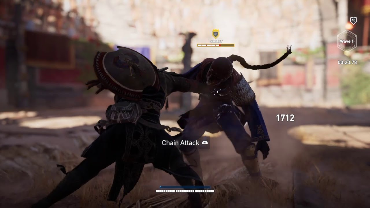Assassin's Creed® Origins The Duelist Arena Fight
