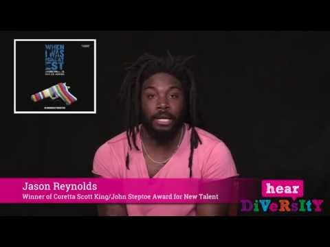 """Hear Diversity: Author Jason Reynolds """"We need ALL the stories"""""""