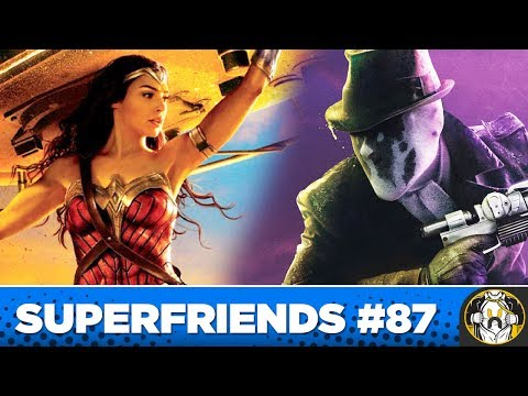 First Wonder Woman 2 Details & Watchmen TV Series Heading to HBO | Superfriends #87