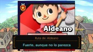 Super Smash Bros. Ultimate - Smash Arcade - Ruta de Aldeano