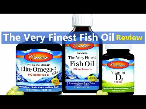Carlson Labs, Norwegian, The Very Finest Fish Oil