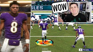 I used Lamar Jackson for the very first time, the results will shock you!