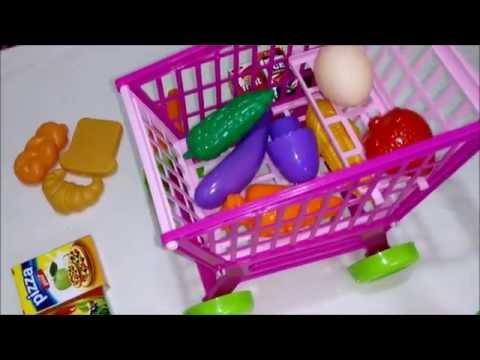 5535343c8  العاب بنات تسوق لعبة عربة التسوق للأطفال : سلة التسوق : السوبر ماركت :  العاب بنات و أولاد - YouTube