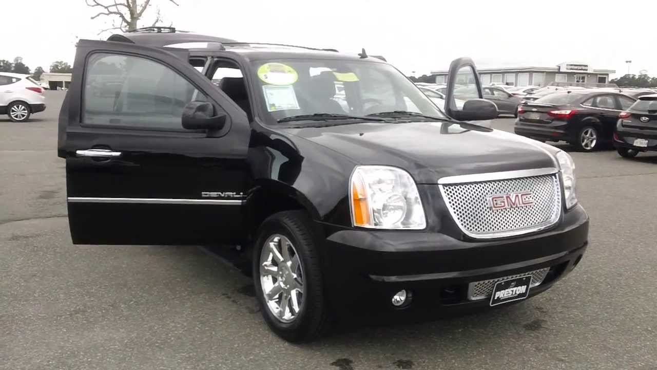 2013 gmc yukon denali for sale maryland used car dealer youtube. Black Bedroom Furniture Sets. Home Design Ideas