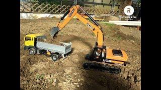 RC Truck Fun! CONSTRUCTION Special 2018 I Modellbaustelle Wachau I Austria 2018
