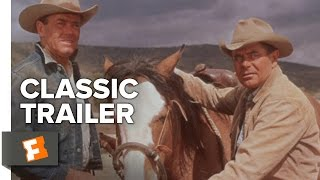 The Rounders (1965) Official Trailer - Glenn Ford, Henry Fonda Western Movie HD