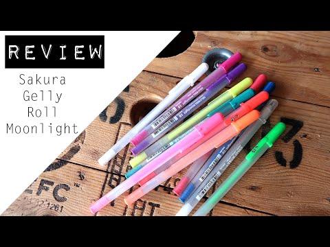 REVIEW || Sakura Gelly Roll - Moonlight