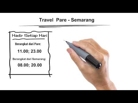085 606 735 434 & 082 302 431 001 Travel Pare - Semarang