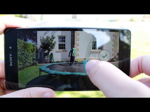 Sony Xperia Z2 - Camera feature walkthrough and test