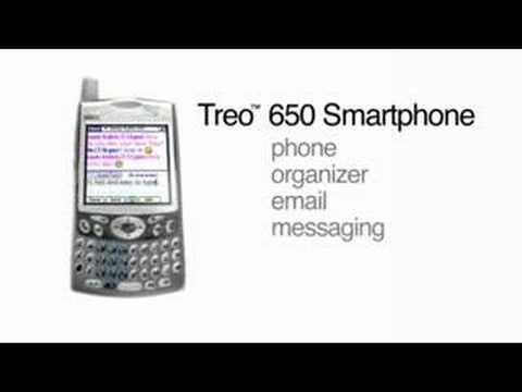 Smarthphone Treo 650