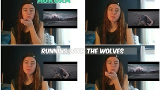 American Reacts to [AURORA] Running With The Wolves