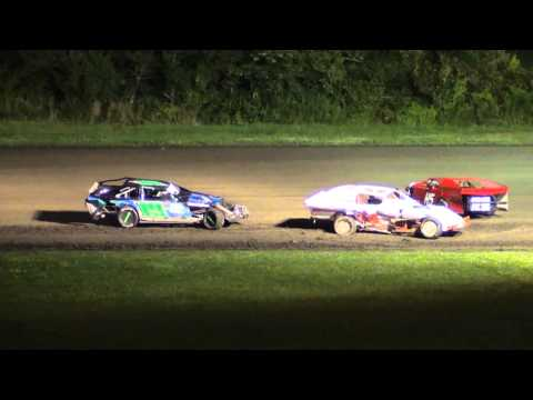 Modified Feature Pileup Gas City Speedway 8-9-13