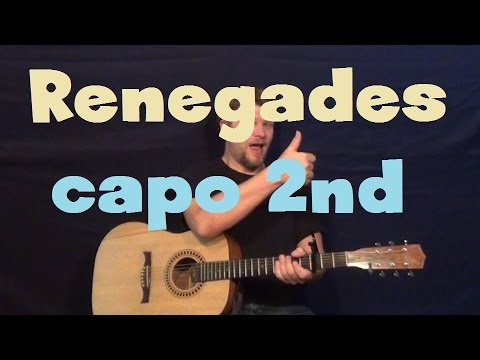 Renegades (X Ambassadors) Easy Guitar Lesson How to Play Tutorial ...