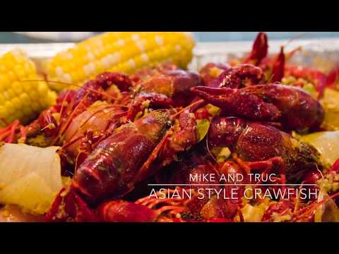 Asian Style Crawfish - Mike And Truc
