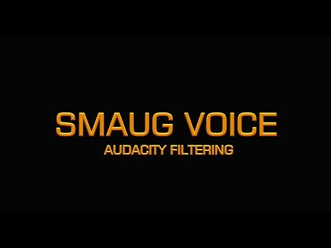 how to make voice sound wamer in audacity