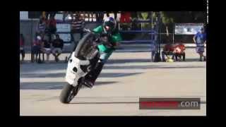Gran demostración de Stunt Riders en la Semana de la Moto Mazatlán 2014