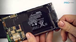 замена разбитого экрана своими руками на примере смартфона Lumia 1520