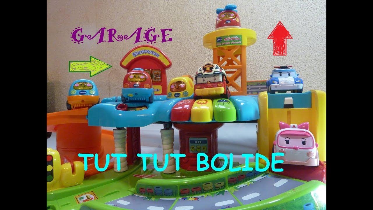 garage tut tut bolide vtech et robocar poli kids toys cars garage youtube