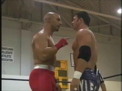 AJ Styles vs. Christopher Daniels (Balls Mahoney On Commentary) - 2004