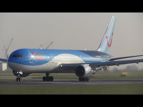 Beautiful Spring Morning Plane Spotting at Manchester Airport   1 Hour long!