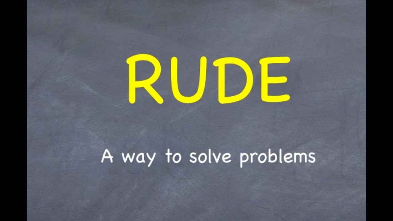 rude a way to solve physics numerical problems rude a way to solve physics numerical problems