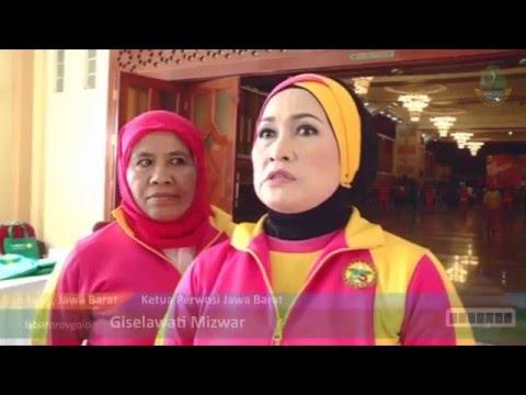 Jabarprov TV - Pelatihan Senam Bugar Anak Indonesia