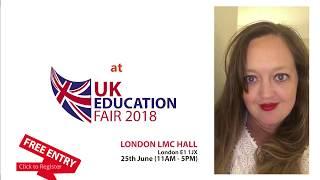 UK Education Fair 2018 LMC London - University of Greenwich