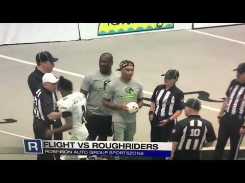 Highlights of Roughriders 52-16 Win Over Jersey Flight 5.18.19