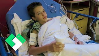 Bryce's First Surgery. Bryce's Hernia Operation | Clintus.tv