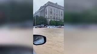 Flash Flood Hits Washington D.C. Area