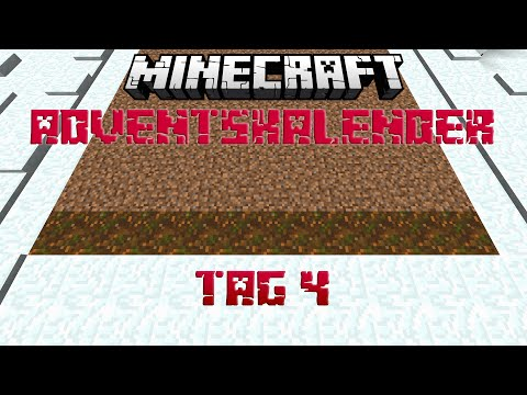 Podzol wächst nicht! - Minecraft Facts & Designs Adventskalender Tag 4