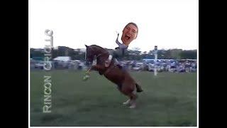 My Bro Riding A Bucking Horse