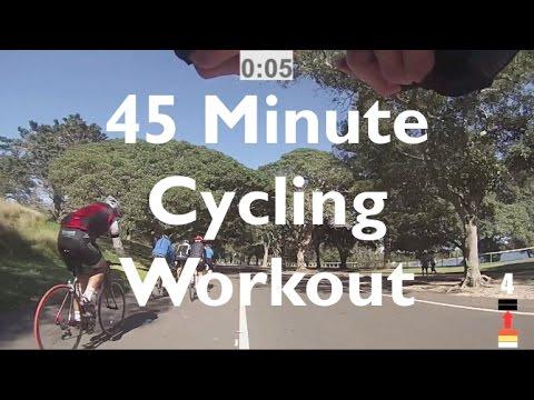 45 Minute Cycling Workout - Centennial Park