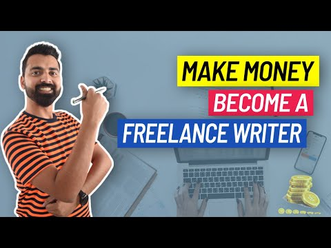 How To Become A Freelance Writer & Make Money