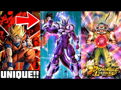 ALL UNIQUE CARDS ART ANIMATIONS 🔥!! [Dragon Ball Legends]
