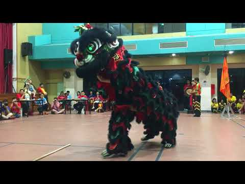 1st Traditional Lion Dance Competition 2017: Yan Wong