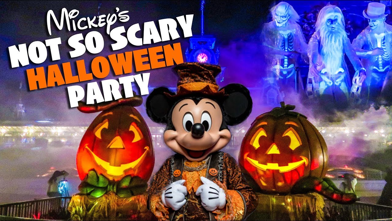 It is similar to mickey's not so scary halloween party of years past but with modifications. Top 10 Must Do S At Mickey S Not So Scary Halloween Party 2018 Youtube