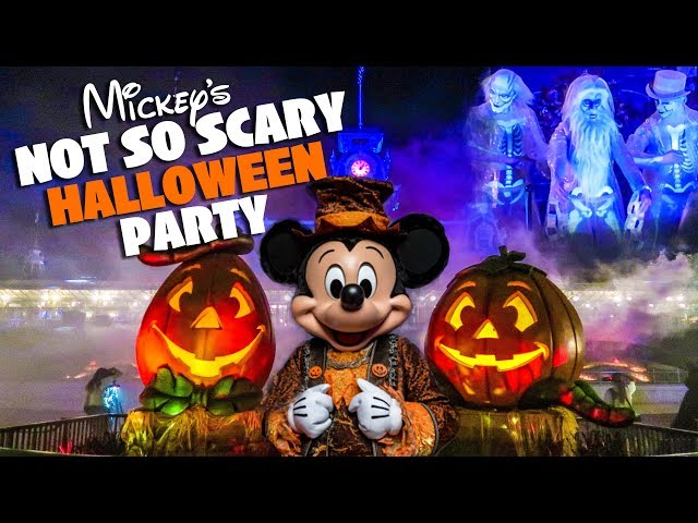 Top 10 Must Do's at Mickey's Not So Scary Halloween Party