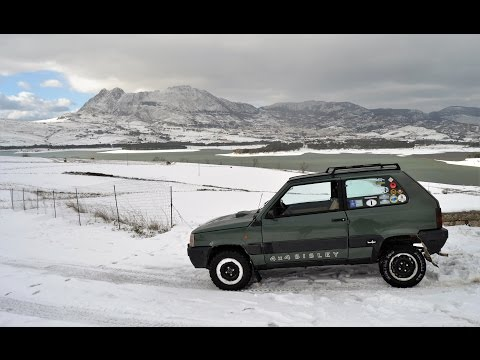 Panda 4x4 e toyota lj 70 in offroad doovi for Panda 4x4 sisley off road