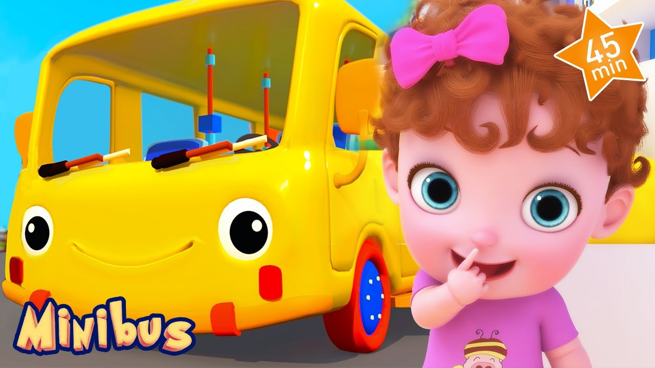 Ding Dong Bell : The Baby Cat Song + More Nursery Rhymes & Kids Songs | Minibus