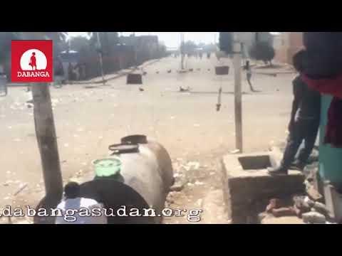 Videos of street protests Sudan 19, 20 Dec