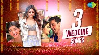 Top  3 Wedding songs | Aaj Sajeya | Gud Naal | Tunu Tunu | Alay F | Sonam Kapoor | kriti Kharbanda
