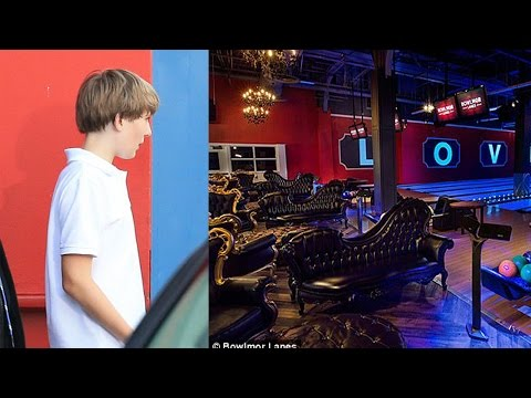 Barron Trump Caught Bowling With Suspected Secret Nanny (Photos)