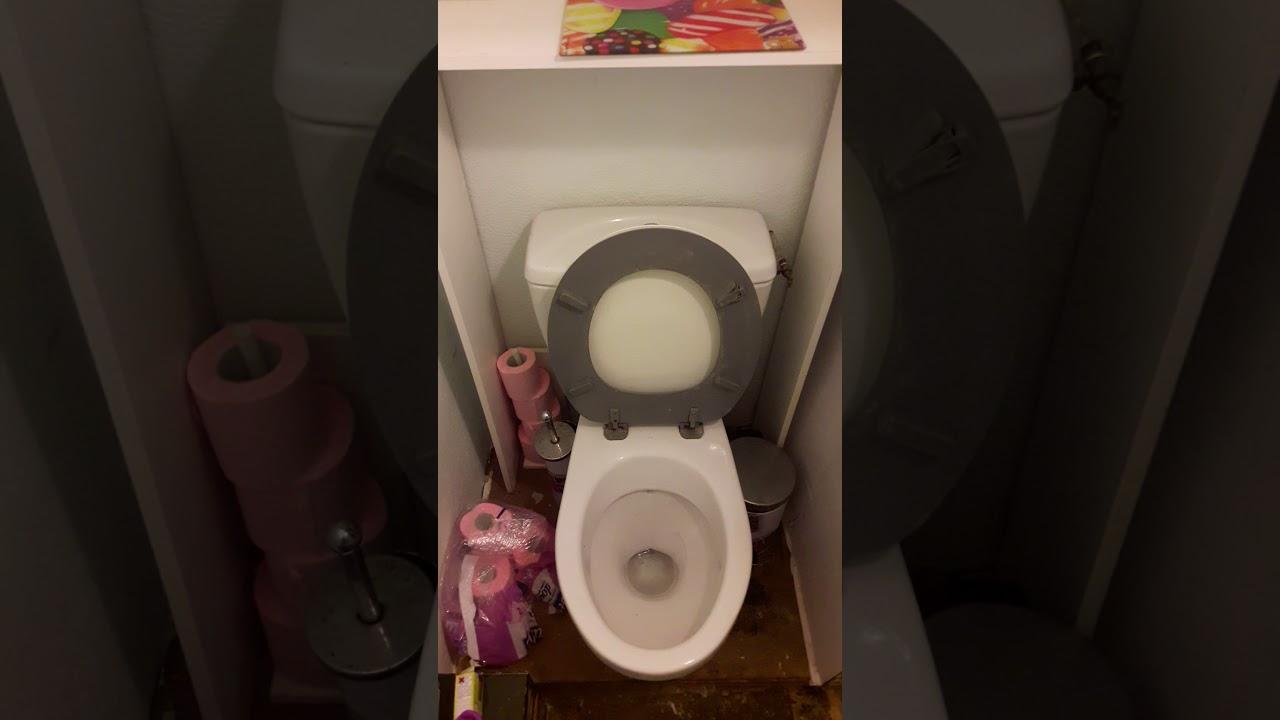 probl me d 39 coulement des eaux us es dans les toilettes youtube. Black Bedroom Furniture Sets. Home Design Ideas
