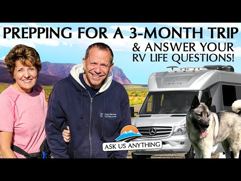 Our Upcoming RV Trips & More RV Living Insights! Ask Us Anything With The Wendlands