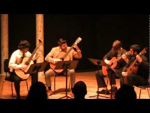 Albert Hickman in LMU Guitar Ensemble April 14, 20...
