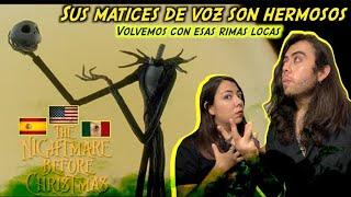 Reacción Doblaje Latino vs Español: ¡LAMENTO DE JACK! #disney #lamentodejack #timburton