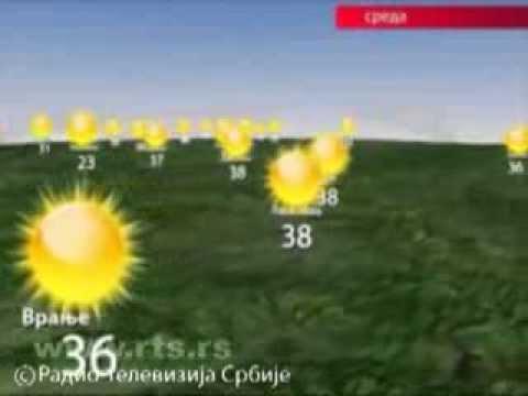 Prognoza Vremena Za Sredu 7. Avgust 2013.